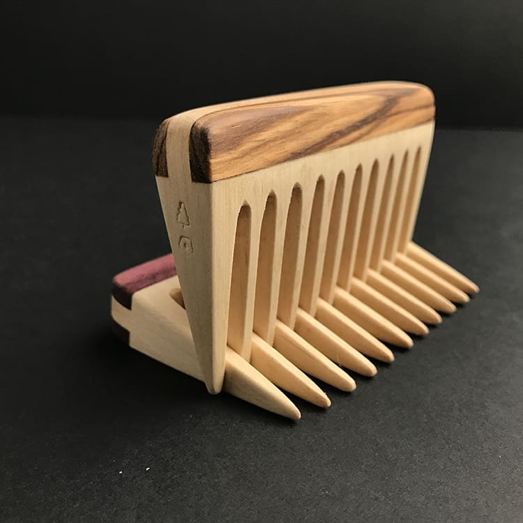 Woodsmanknowles Beard Comb-Probably The No1 Best Handmade Beard Comb Available 3